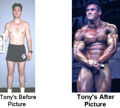 Before Steroids and After Steroids